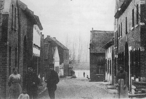 Berger Maasstraat ca 1916