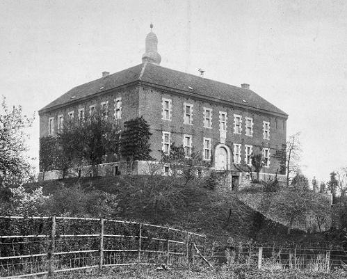 Kasteel Limbricht in 1896.